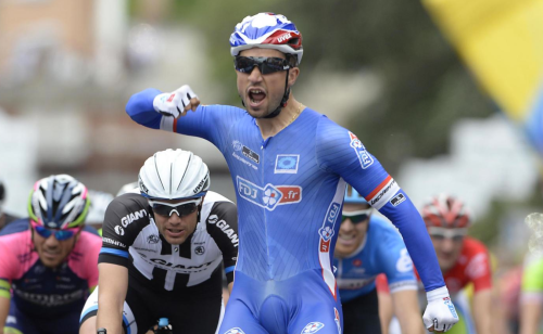 Nacer Bouhanni vince a Foligno