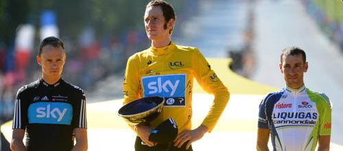 Wiggins, Froome, Nibali Tour 2012