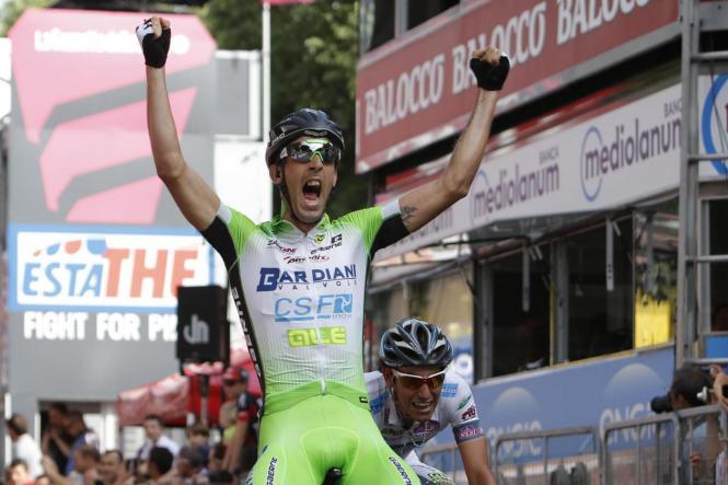 Giro d'Italia 2015 - 98a edizione - Tappa 10  - da Civitanova Marche a Forl / 200 Km