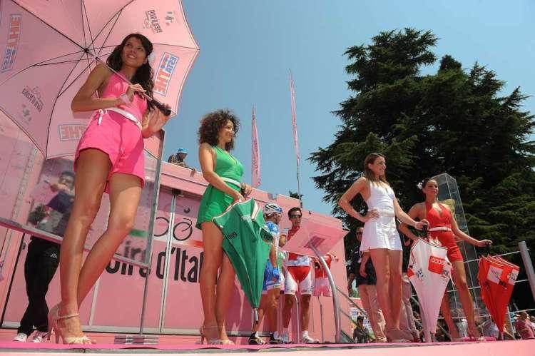 "Giro d'Italia 2011 - Partenza tredicesima tappa ""Splimbergo-Grossglockner"""